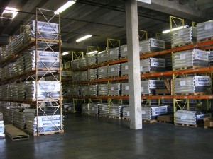 Warehouse Metal Roofing Photo