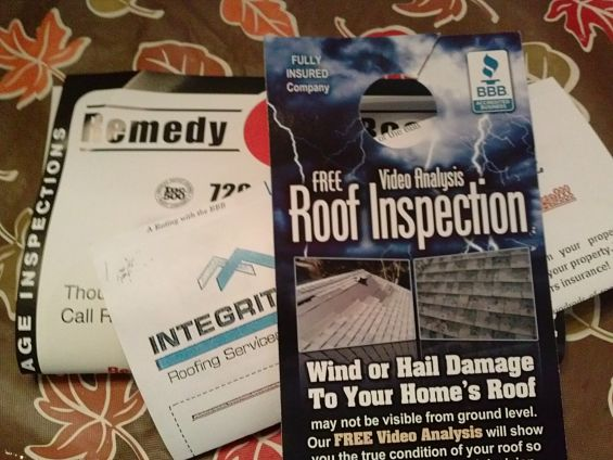 Roofing Fliers photo