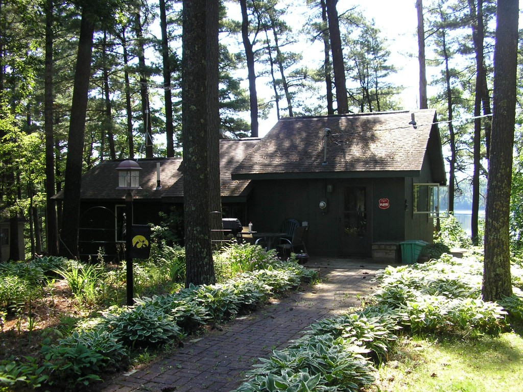 Lake Cabin Asphalt Shingle Roof in Siren, WI