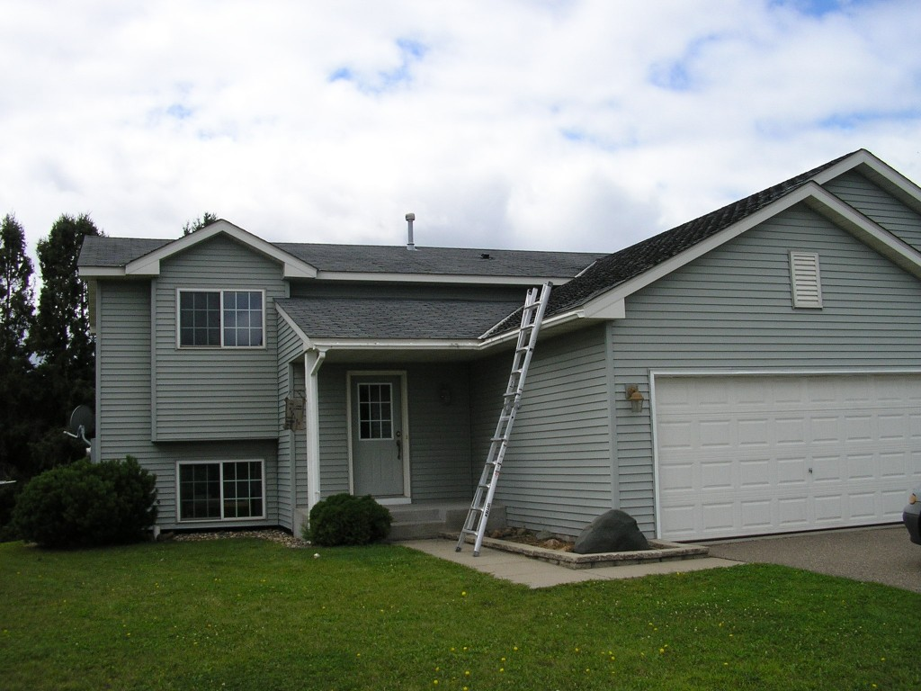 Split Level Home Metal Roof in Hammond, WI