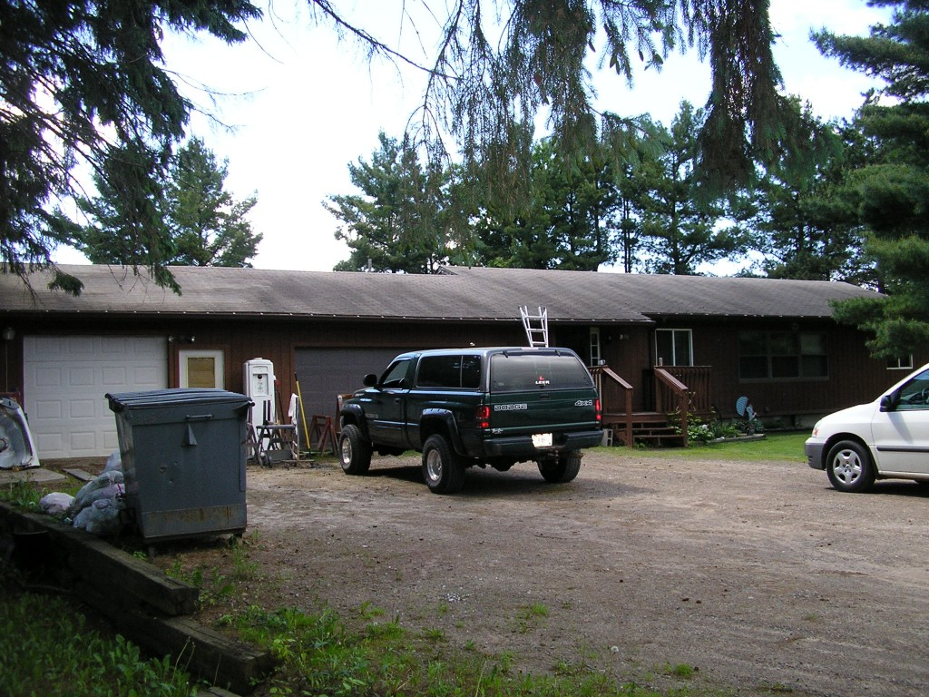 Ranch Style Home Asphalt Roof in Rice Lake